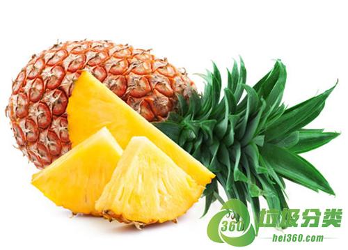 菠萝皮属于什么垃圾分类?