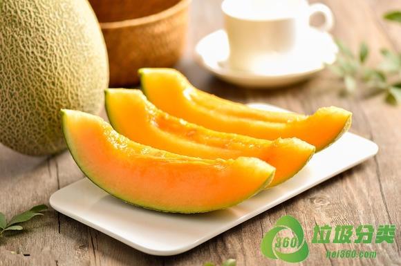 哈密瓜皮和哈密瓜子属于什么垃圾分类?