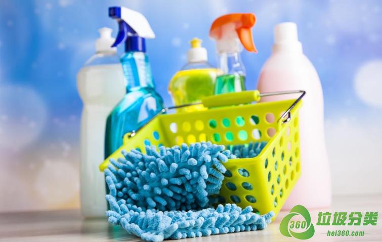 洗涤剂和洗涤剂瓶子属于什么垃圾分类?