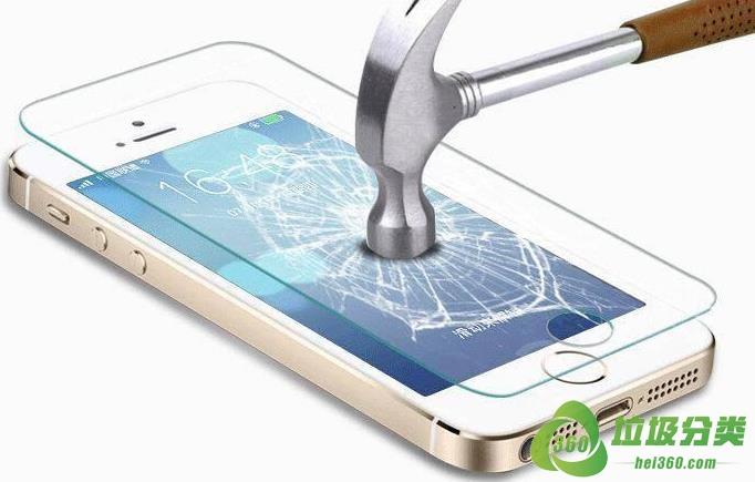 破碎的手机钢化膜属于什么垃圾分类?
