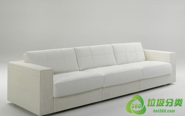 废旧的沙发属于什么垃圾分类?