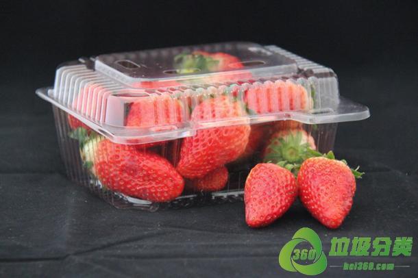 草莓盒属于什么垃圾分类?