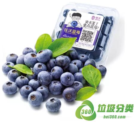 蓝莓盒属于什么垃圾分类?