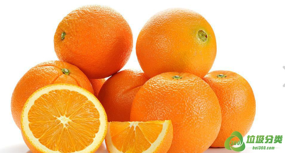 橙子皮和腐烂的橙子属于什么垃圾分类?