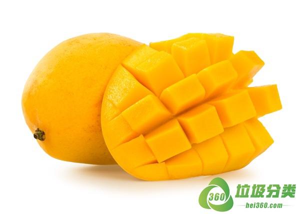 芒果皮和芒果核属于什么垃圾分类?