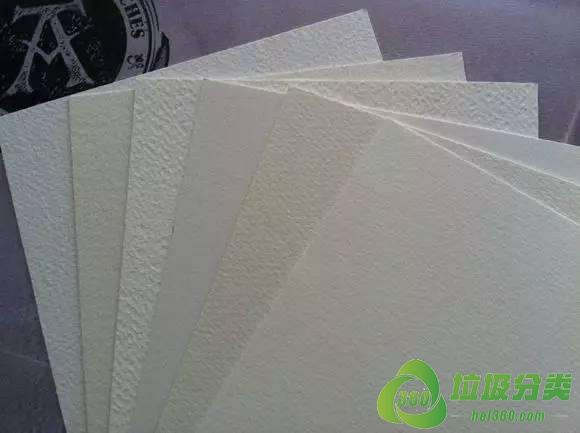 水彩纸属于什么垃圾分类?