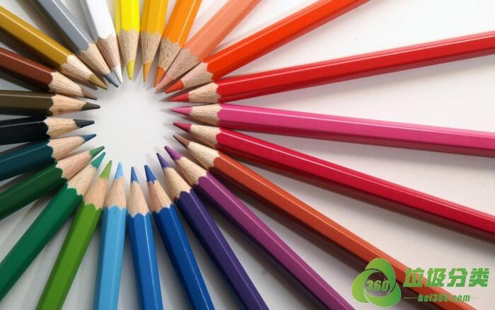 「铅笔」彩色铅笔属于什么垃圾分类?
