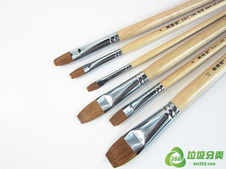 油画笔属于什么垃圾分类?