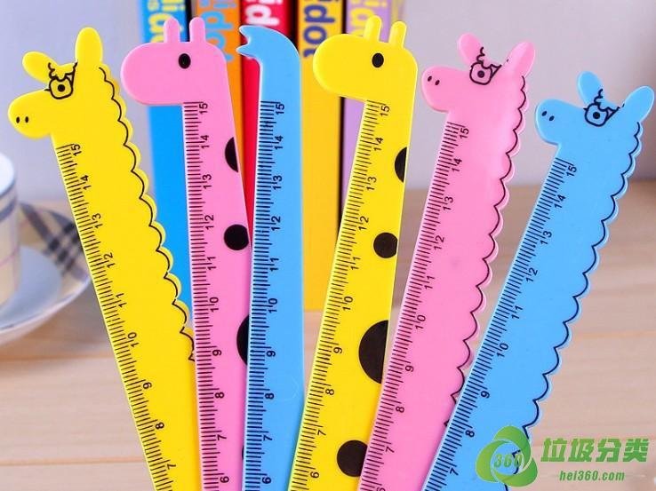尺子(量尺、直尺、间尺)属于什么垃圾分类?