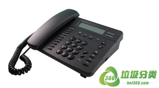 废旧电话机(固定电话、座机)属于什么垃圾分类?