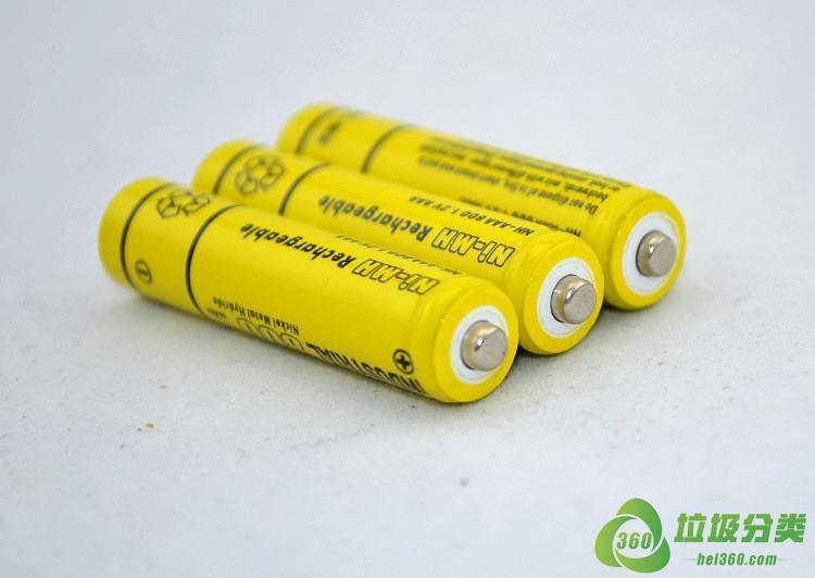 废旧充电电池