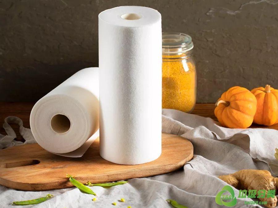 厨房纸(厨房吸油纸)属于什么垃圾分类?