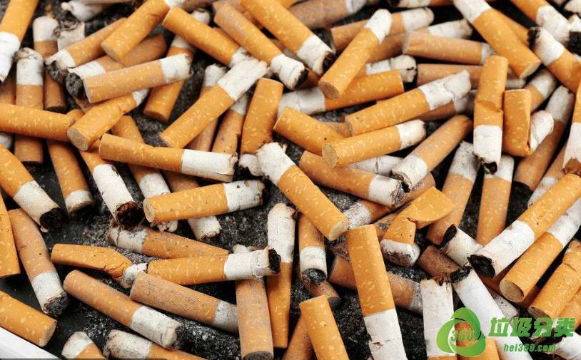 烟头(烟蒂)属于什么垃圾分类?