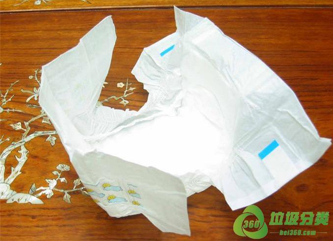 尿不湿属于什么垃圾分类?