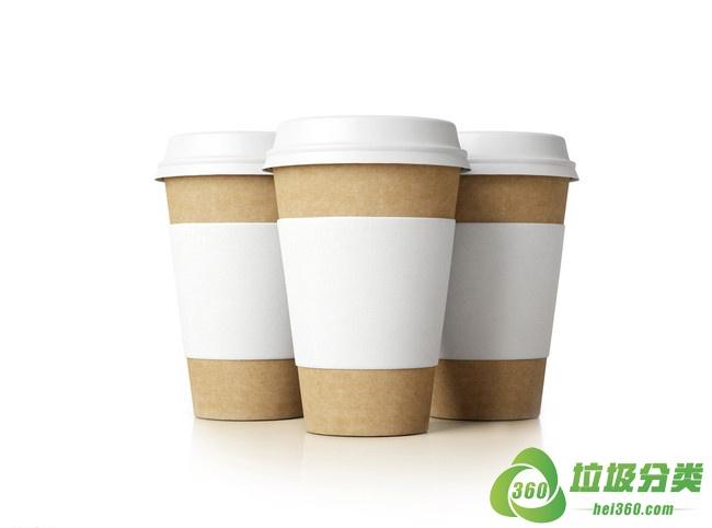 咖啡纸杯属于什么垃圾分类?