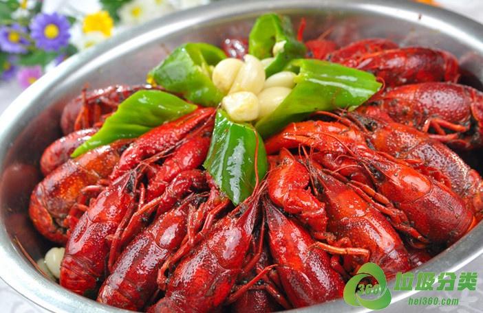 吃完小龙虾壳属于什么垃圾分类?