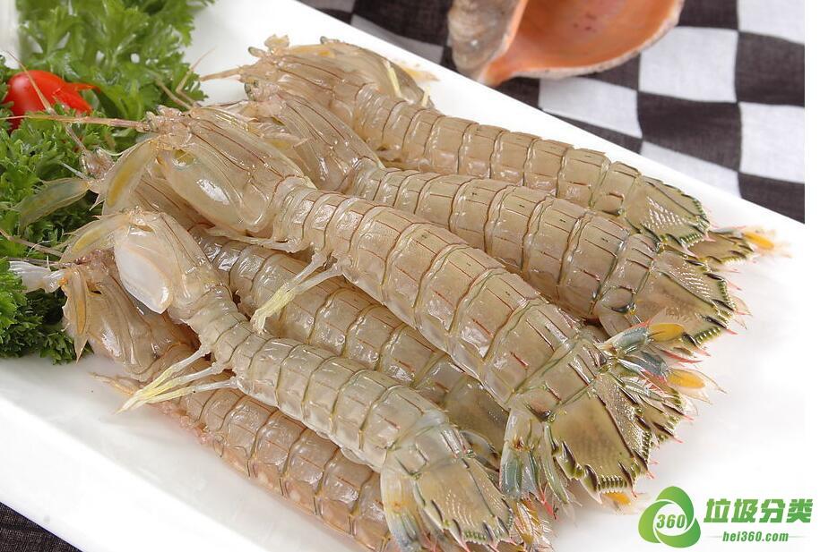 皮皮虾壳属于什么垃圾分类?