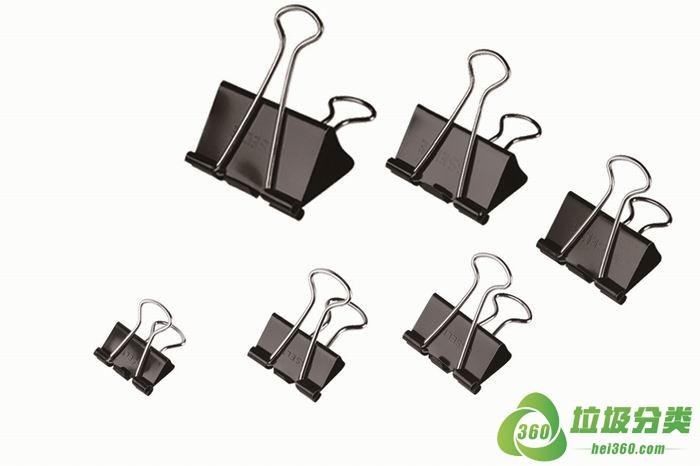 铁夹子属于什么垃圾分类?
