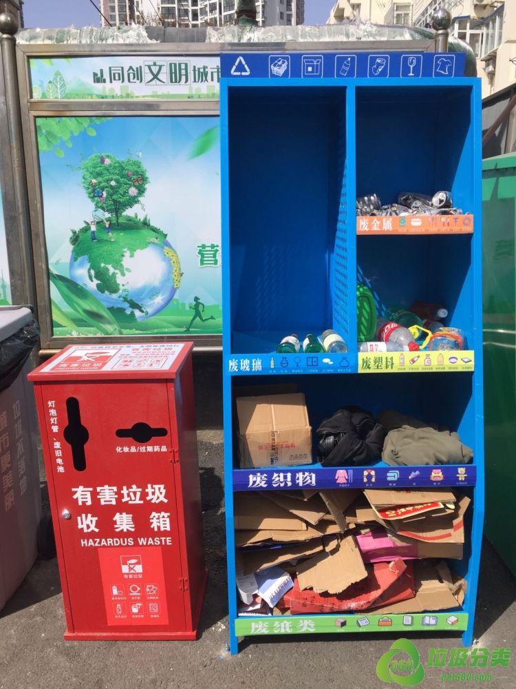 """青岛垃圾分类创新设计,助力垃圾分类精准投放推出""""小红""""""""大蓝"""""""