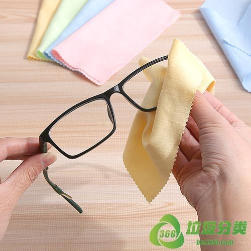 眼镜布属于什么垃圾分类?
