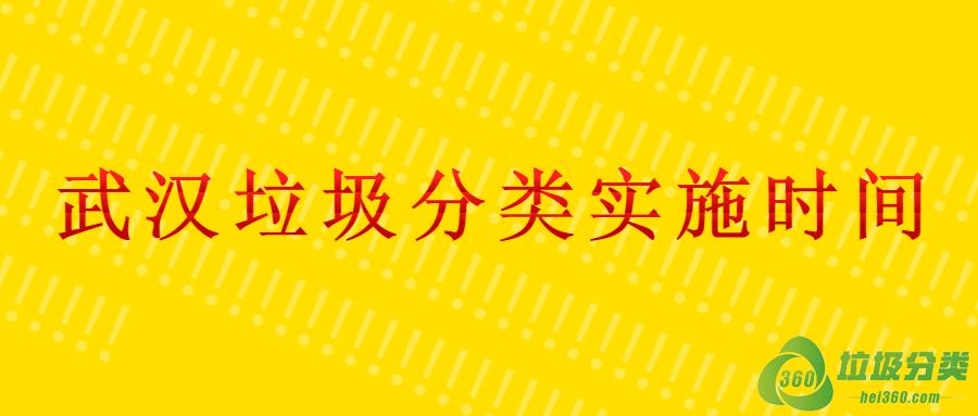 """武汉垃圾分类""""强制分类""""实施时间"""