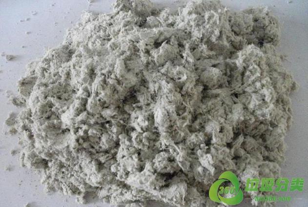 废石棉绒属于什么垃圾分类?
