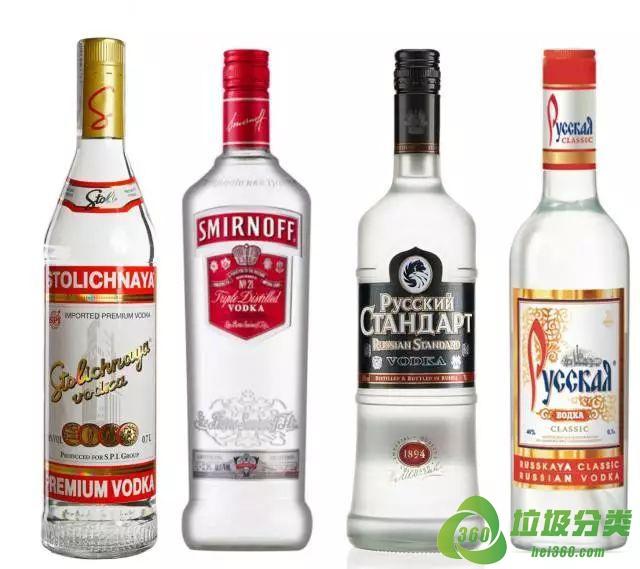 伏特加酒瓶子属于什么垃圾分类?
