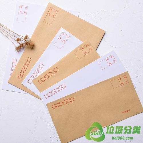 信封袋属于什么垃圾分类?