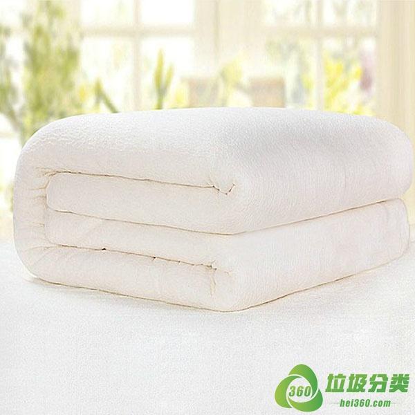 旧棉被属于什么垃圾分类?
