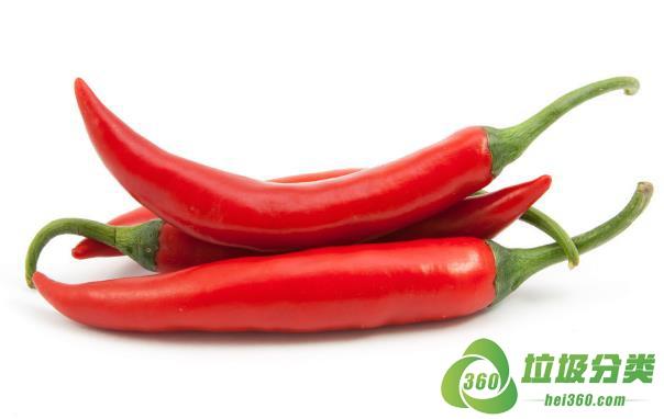 红辣椒属于什么垃圾分类?