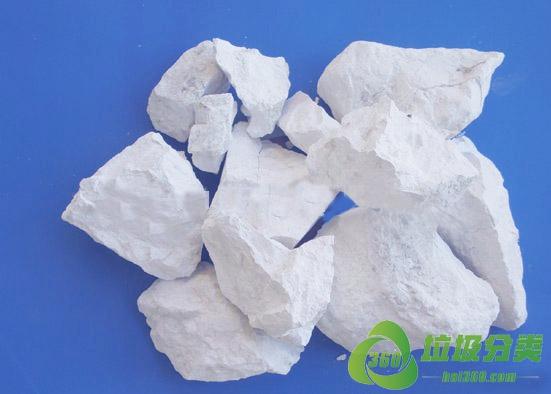 生石灰(烧石灰)属于什么垃圾分类?