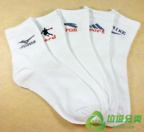 运动袜(长筒运动袜、专业运动袜、篮球袜、足球袜)属于什么垃圾分类?