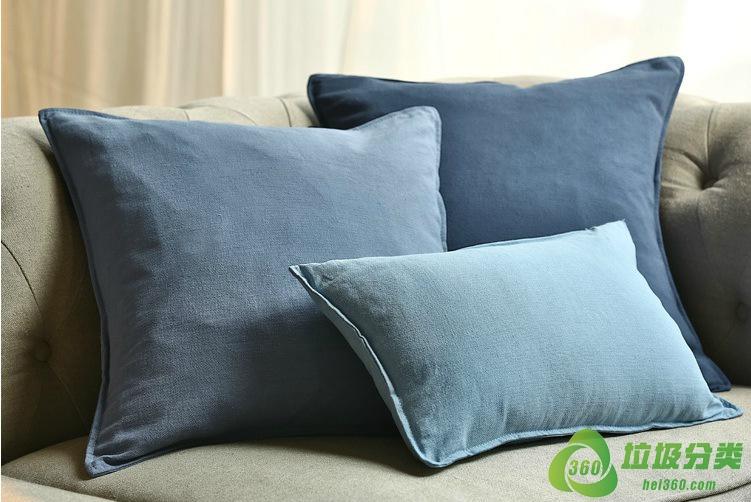 靠枕(床上靠枕、多功能靠枕)属于什么垃圾分类?