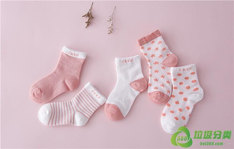 袜子(棉袜、毛袜、丝袜)属于什么垃圾分类?
