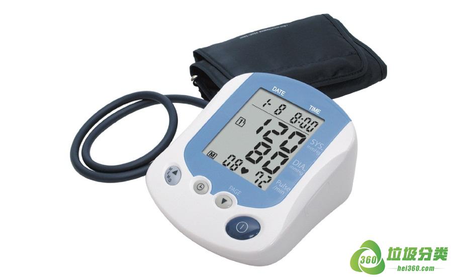血压计(血压仪、水银血压计、电子血压计)属于什么垃圾分类?